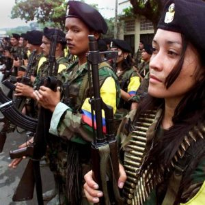 FARC Shining Path guerillas