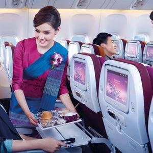 Thai Airways crew