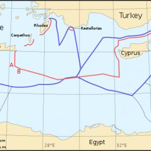 East Mediterranean Exclusion zones