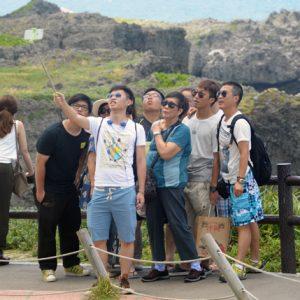 Chinese tourists Okinawa